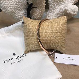 Rose gold Kate spade bangle bracelet